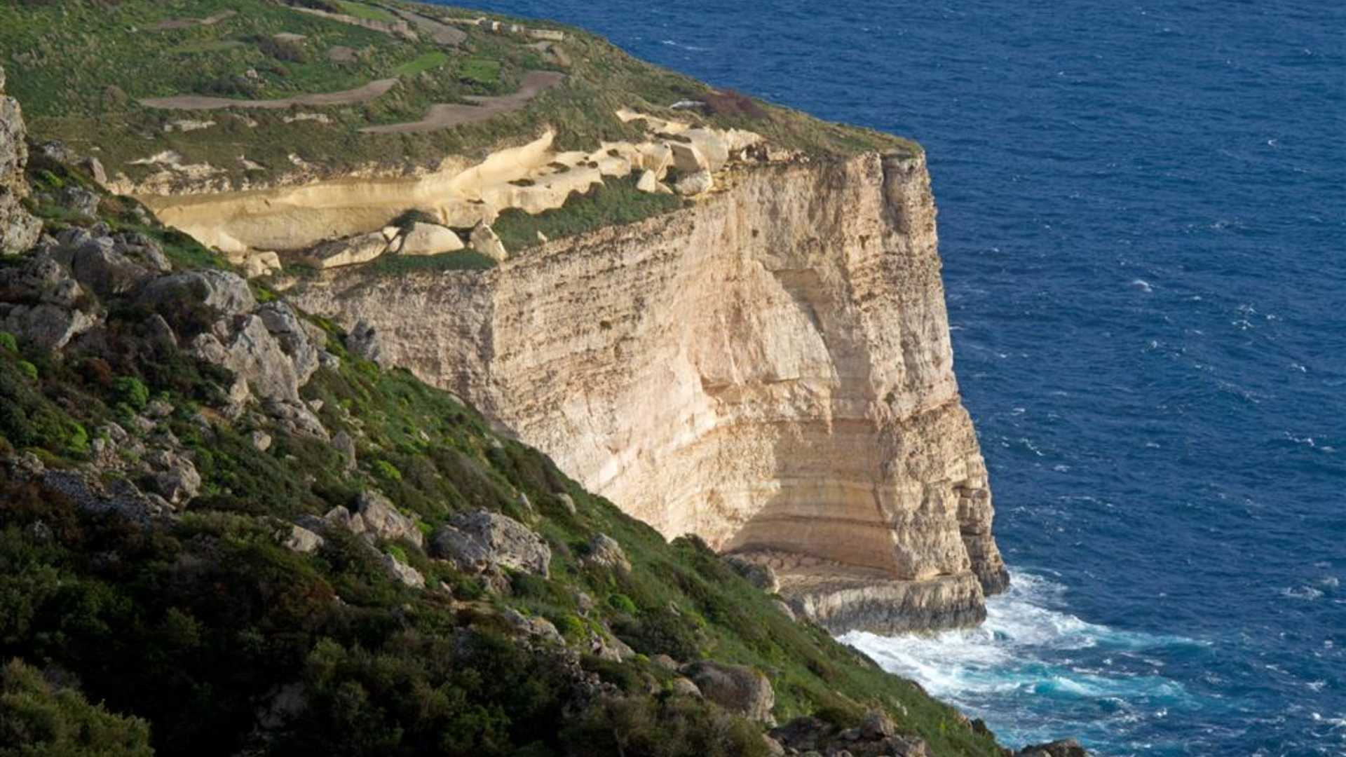 views of Dingli Cliffs