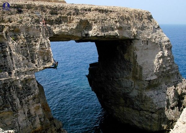 Rock climbing in Malta