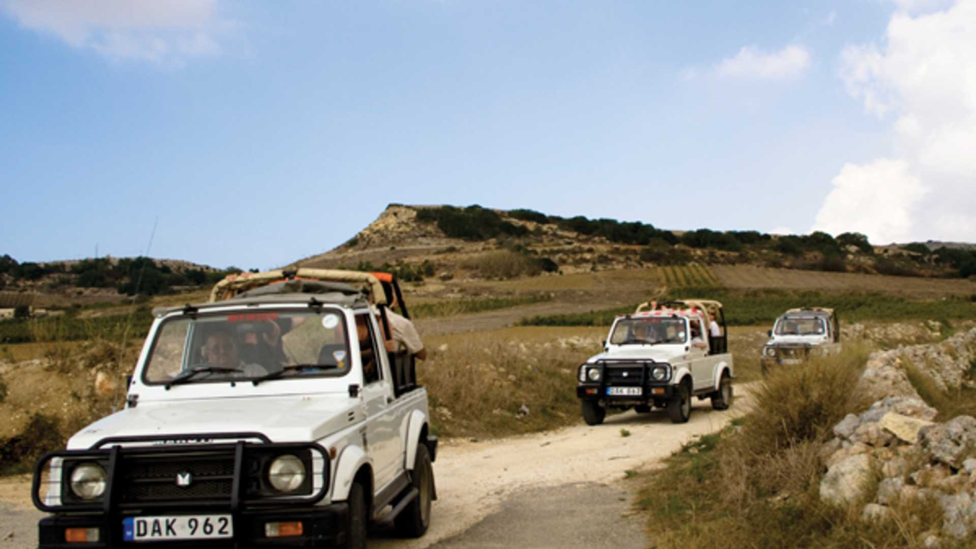 Gozo Jeep Safari - 1 day adventure