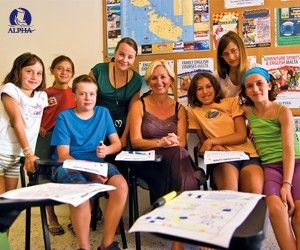 Kids Junior English Course group