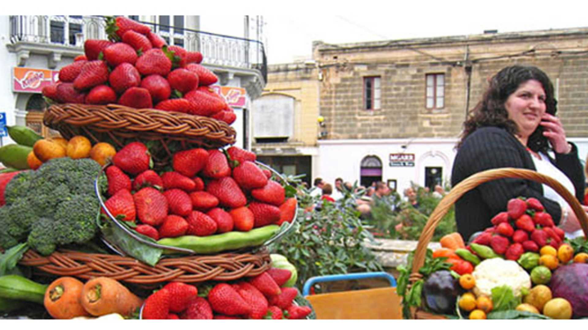 *April* - Mġarr Strawberry Fair