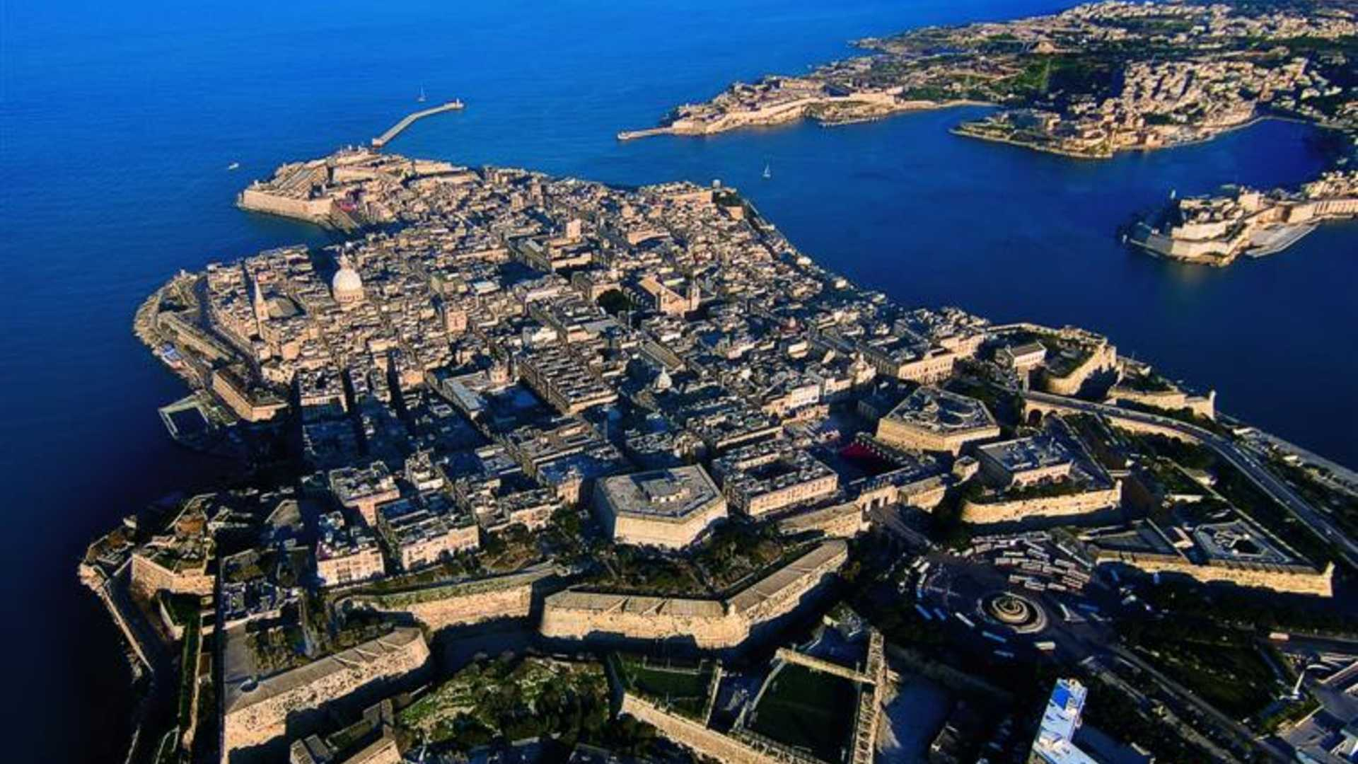 The capital city of Malta